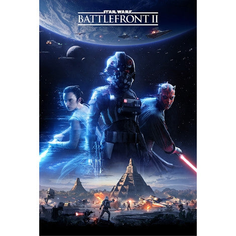 Star Wars Battlefront 2 - Game Cover - Maxi Poster