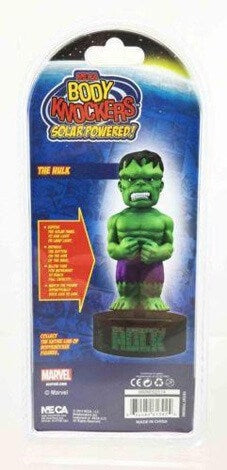 Solar Power Body Knockers - Marvel - Hulk