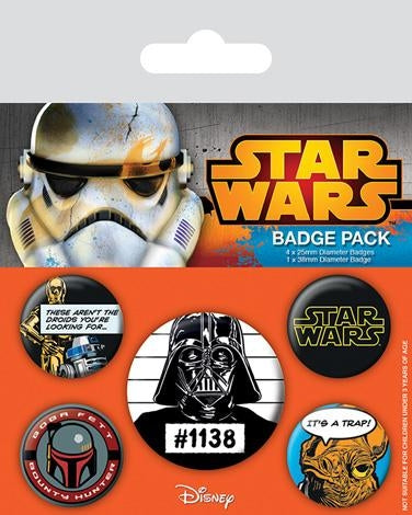 Star Wars - Cult Badgepack