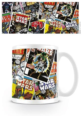 Star Wars - Comic Covers Coffee Mug