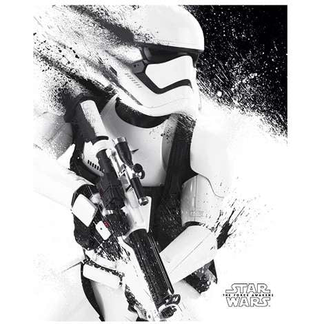 Star Wars Ep VII - Storm Trooper Paint Mini Poster