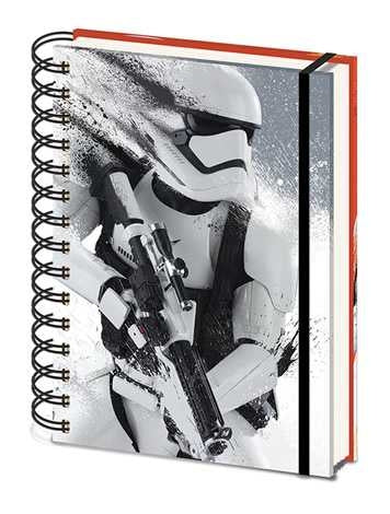 Star Wars Ep VII Stormtrooper Paint A5 Wiro Notebook