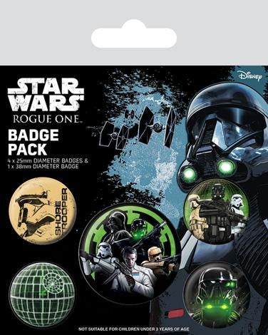 Star Wars Rogue One - Empire Badgepack