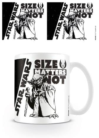 Star Wars - Size Matters Not Coffee Mug