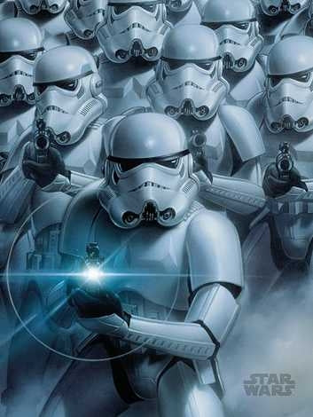 Star Wars - Storm Troopers Canvas Print