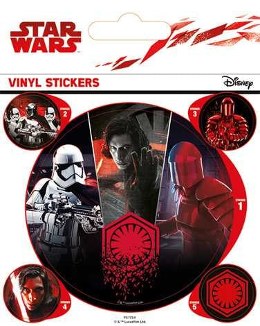 Star Wars The Last Jedi - First Order - Vinyl Sticker