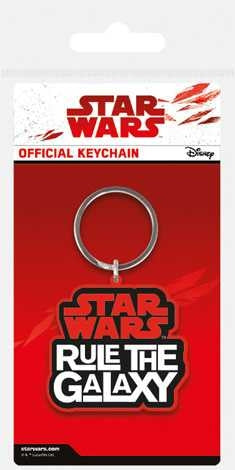 Star Wars The Last Jedi - Rule The Galaxy - Rubber Keychain