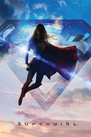 Supergirl - Clouds Maxi Poster
