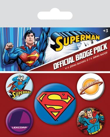 Superman Badgepack