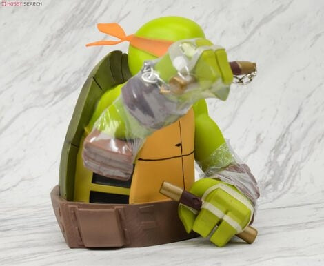 Teenage Mutant Ninja Turtles Michelangelo Bust Bank