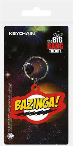 The Big Bang Theory - Bazinga - Carded Keychain