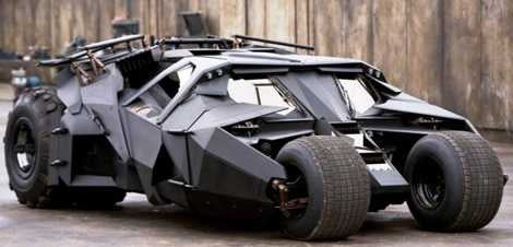 The Dark Knight Tumbler 1:12