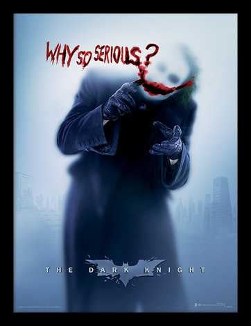 The Dark Knight - Why So Serious? Memorabilia