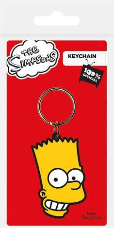 The Simpsons - Bart - Rubber Keychain