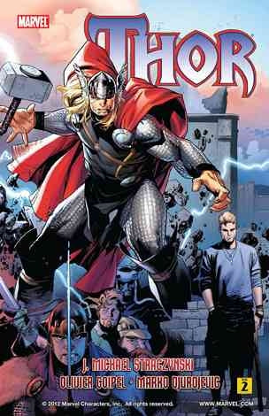 Thor By J. Michael Straczynski - Volume 2 Comic Book