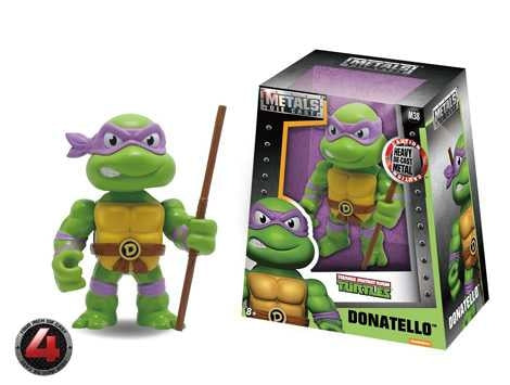 "TMNT Donatello 4"" Metals Die Cast Figure"