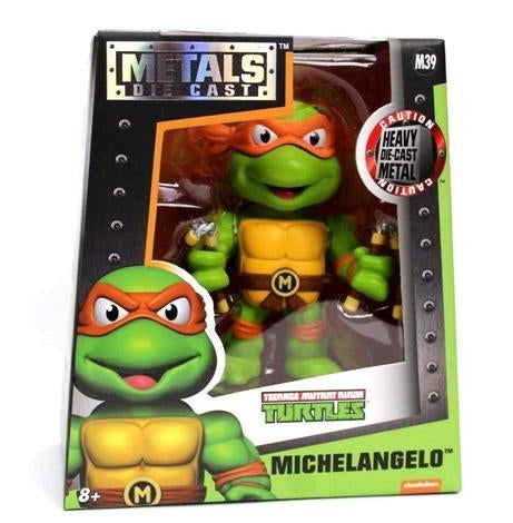 "TMNT Michelangelo 4"" Metal Die Cast Figure"