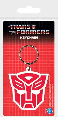 Transformers G1 Autobot Shield Rubber Keychain
