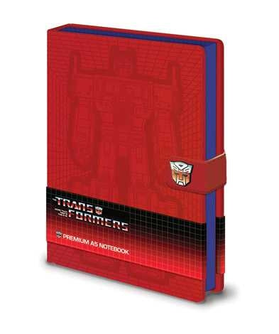 Transformers G1 - Optimus Prime - Premium A5 Notebook