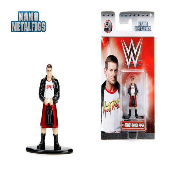 Jada WWE  Rowdy Roddy Piper Nano Metal Figure