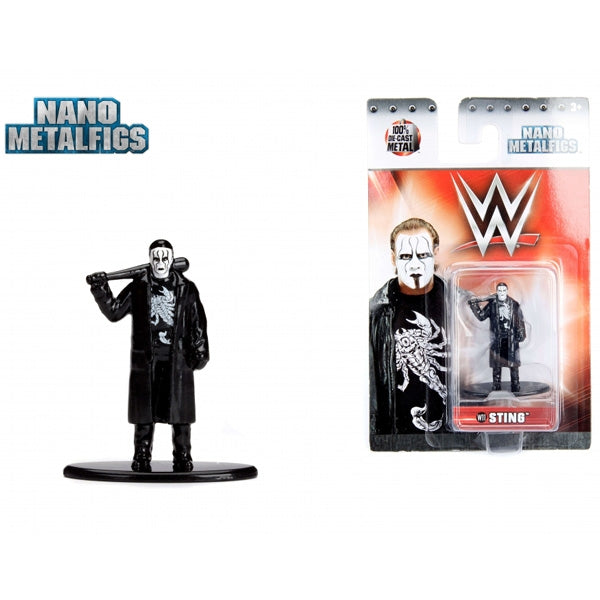Jada WWE  Sting Nano Metal Figure