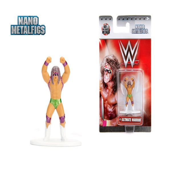 Jada WWE  Ultimate Warrior Nano Metal Figure