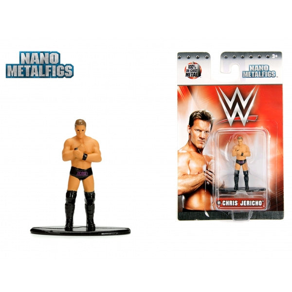 Jada WWE  Chris Jericho Nano Metal Figure