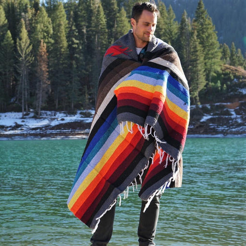 camping blanket diamond mexican blanket design blanket