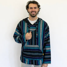 Load image into Gallery viewer, Chilled Diamond Mexican Drug Rug Baja Hoodie