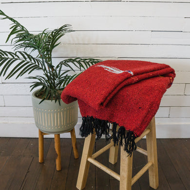 Red Thunder Bird - Mexican Blanket