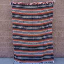 Load image into Gallery viewer, mexican blanket baja blanket yoga blanket mexican throw