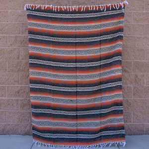 mexican blanket baja blanket yoga blanket mexican throw