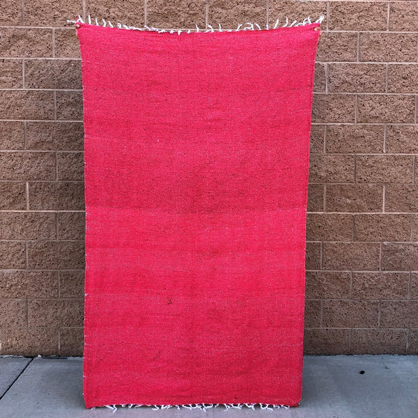 woven blanket mexican baja blanket yoga throw coral