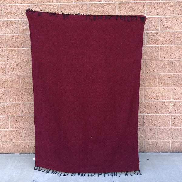 woven blanket mexican baja blanket yoga throw yellowwoven blanket mexican baja blanket yoga throw burgundy