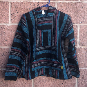Mexican baja drug rug hoodie kids clothes