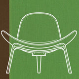 Hans J. Wegner + Paul Smith - Special Edition Carl Hansen & Son