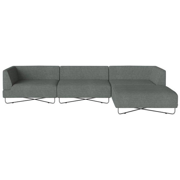 Bolia Orlando 4 Units W Chaise Longue By Glismand