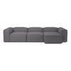Cosima Sofa - 3 Units w/ Chaise Longue