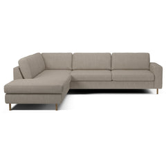 Scandinavia 5 Seater Corner Sofa w/ Open End