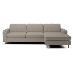 Scandinavia 3 Seater Sofa w/ Chaise Longue