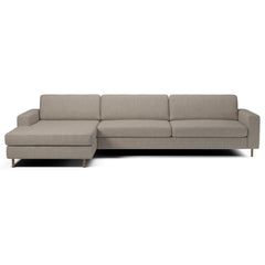 Scandinavia 4 Seater Sofa w/ Chaise Long