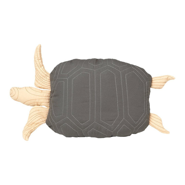 Turtle Quilted Cushion