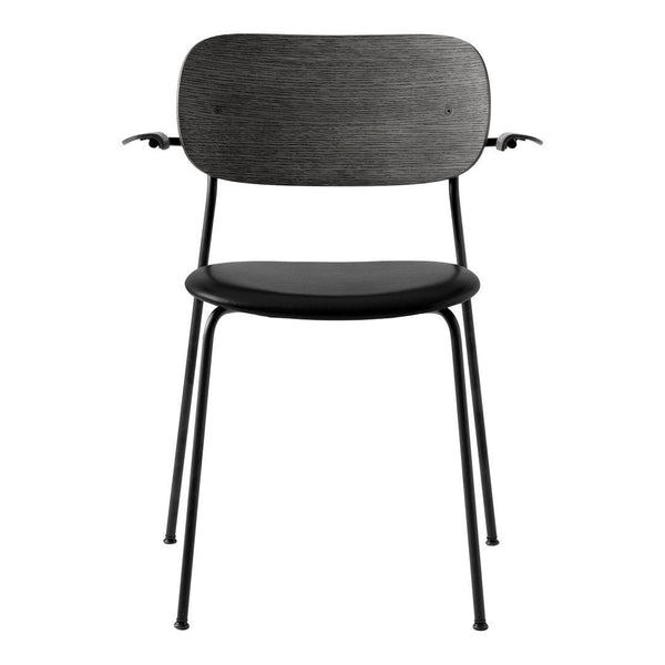 Co Dining Chair w/ Armrests - Seat Upholstered