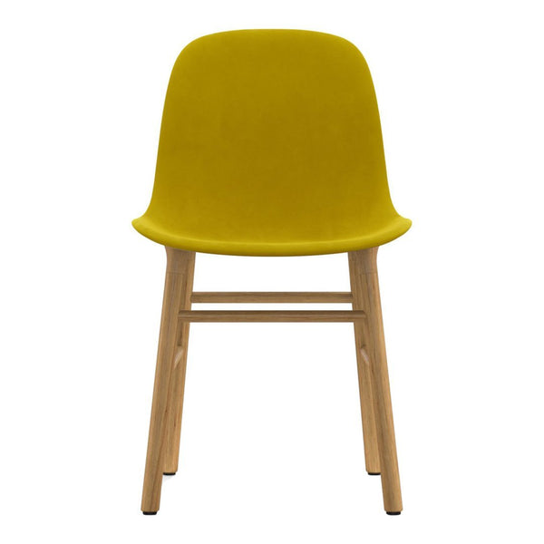 Form Chair - Wood Legs - Upholstered