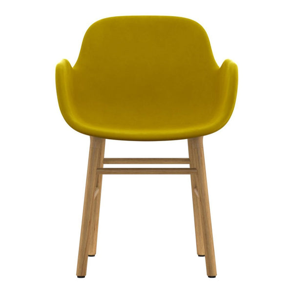 Form Armchair - Wood Legs - Upholstered