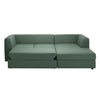 Doze 2 Seater Sofa Bed with Chaise Longue
