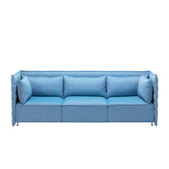 Alcove Plume Sofa Three-Seater