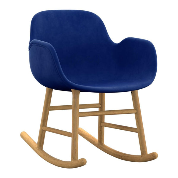 Form Rocking Armchair - Upholstered