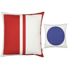 Girard Graphic Print Pillows – Rectangle/Circle