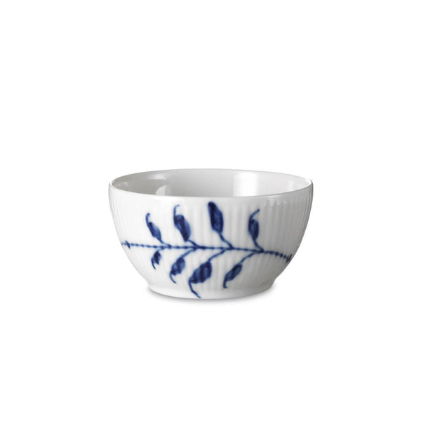 Blue Fluted Mega Sugar Bowl